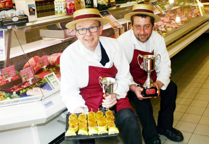 Q Guild 2015 BBQ Comp H Clewlow Nantwich shop duo file pic
