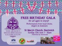 Nantwich to host Queen's 90th birthday celebration event