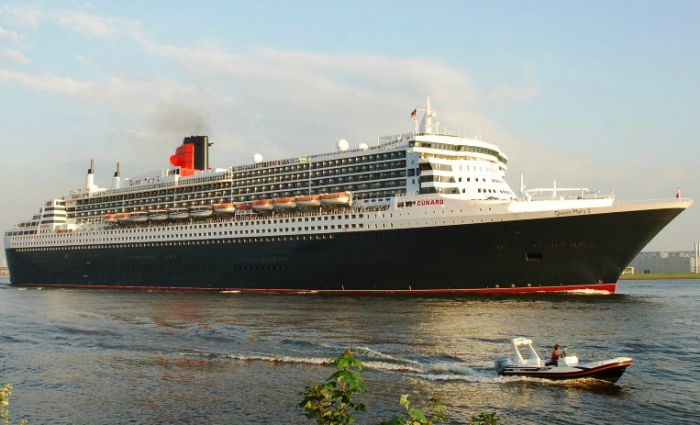 Queen Mary 2 liner, creative commons pic by Hanseaticus
