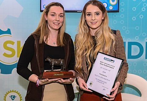 Reaseheath student crowned runner up in national dairy contest