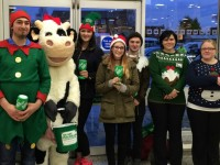 Reaseheath College students raise £1,200 in Morrisons bag pack