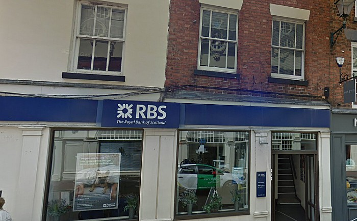 Royal Bank of Scotland in Nantwich - pic by Google Streetview