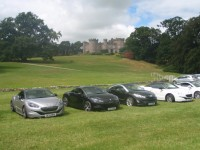 RCZ Peugeot owners enjoy South Cheshire castles mystery tour