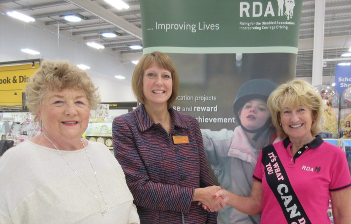 RDA charity of year for Nantwich Sainsburys