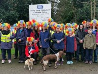 Walkers stroll out to raise cash for RSPCA centre in Nantwich