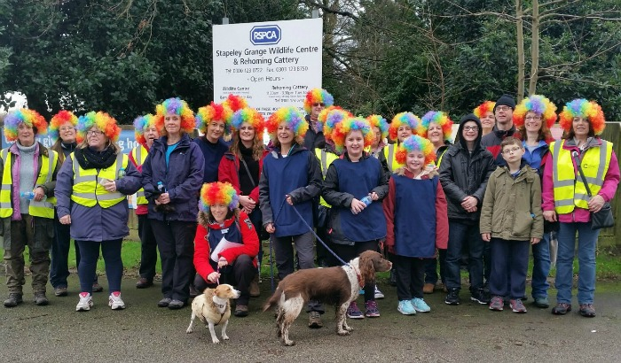 RSPCA Stapeley Grange walkers from Style Counsel