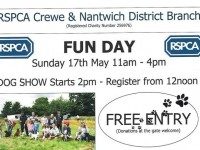 RSPCA Crewe & Nantwich to stage Family Fun Dog Show