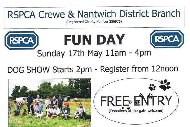 RSPCA fun day poster