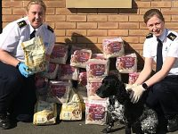 RSPCA inspectors team up to deliver pet food across South Cheshire during lockdown