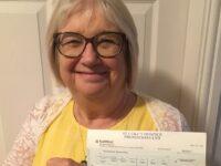 Retired Shavington teacher scoops £5,000 in hospice lottery