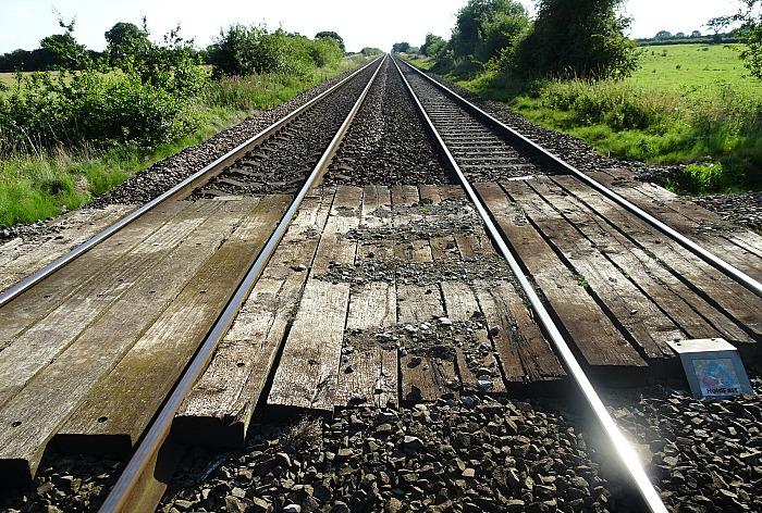 Railway crossing at Nantwich (1)