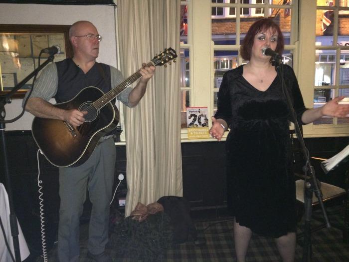 Rain perform at The Crown Bar