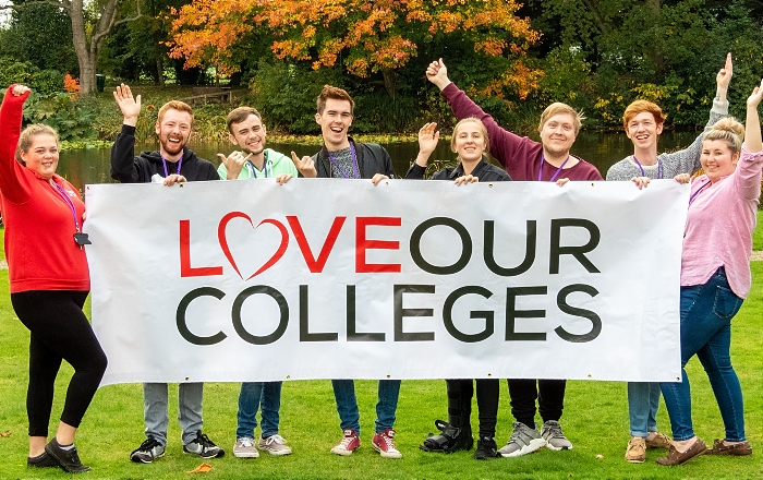 campus - Reaseheath Colleges Week autumn colours