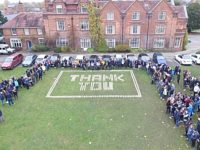 Nantwich students and residents stage Armistice commemorations
