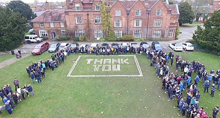 Reaseheath College Remembrance event 2018