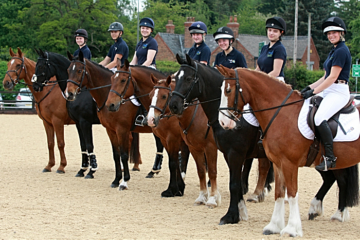 Reaseheath's equine student display team (1)