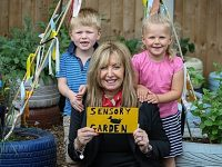 Nantwich nursery benefits from new sensory garden
