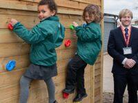 Wistaston Academy pupils welcome new outdoor area