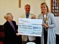 Nantwich methodist swaps gifts for £660 dementia appeal funds