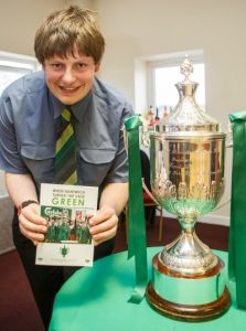 Richard Scott, author of Nantwich Town book on FA Vase victory