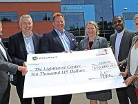 Assurant Foundation donates $10,000 to Lighthouse Centre in Crewe