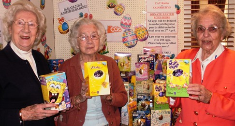 Richmond Village Nantwich and The Cat team up for Easter egg appeal
