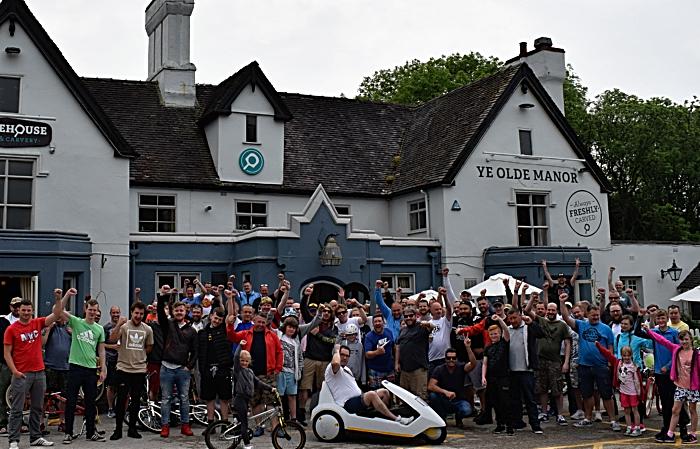 BMX Riders outside Ye Olde Manor (1)