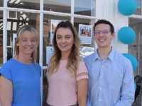 Right at Home South Cheshire - L-R Kirsty Morris, Louisa Shaw and Ben Selby