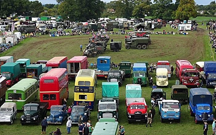 Yesteryear Ring One parade of military vehicles and the classic vehicle display (1)