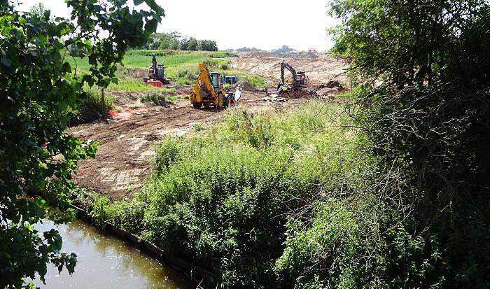 River Weaver floodplain cleared and channel dug (1) (1)