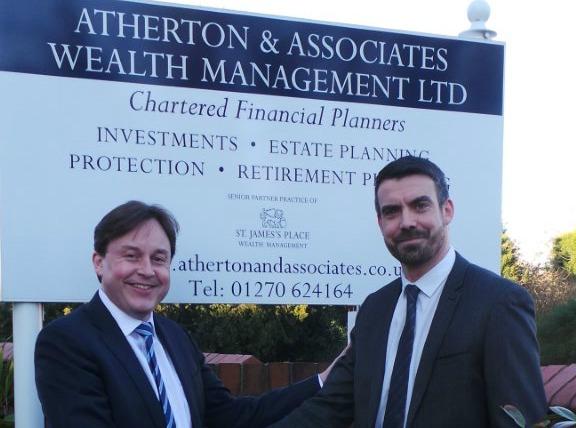 Rob Atherton and Jamie Hull, Atherton & Associates
