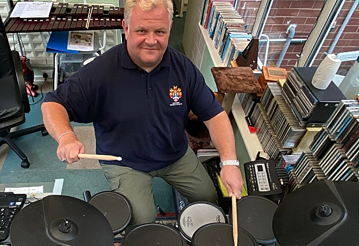 Rob Richardson on his electronic drum kit for Brassfestuk - videos