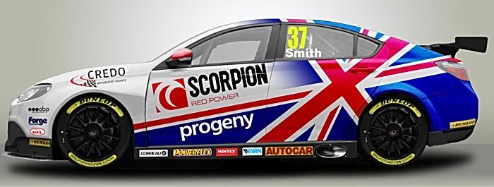 Rob Smith BTCC driver MG6