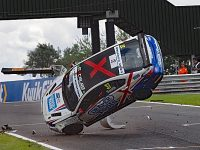 Nantwich driver Rob Smith unhurt in dramatic Oulton Park smash