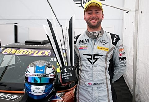 Nantwich racing driver Rob Smith realises dream of BTCC signing