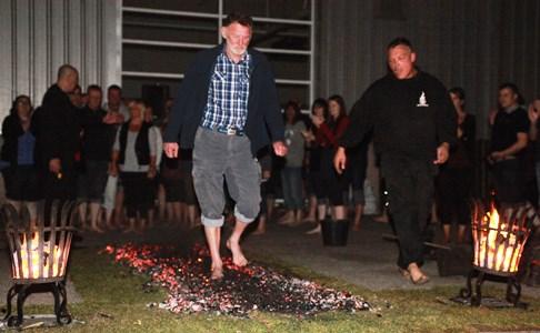 Nantwich folk can tackle daring Fire Walk for St Luke's Hospice