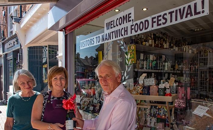 Rodney Densem food festival window display winners