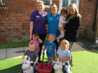 Rope Green nursery raises £800 for Donna Louise Hospice
