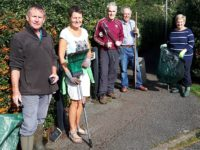 Rope councillors take part in Winter clean up campaign