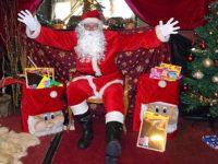 Santa Claus kept busy in Nantwich Bookshop Grotto