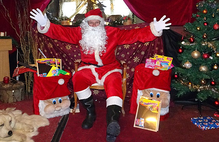 Rotary Club of Nantwich – Santas Grotto 2017