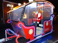 Rotary Club Santa float helps raise charity funds in Nantwich