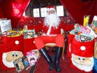 Santa sets up grotto in Nantwich Bookshop