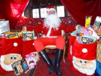 Santa sets up Grotto for youngsters in Nantwich Bookshop