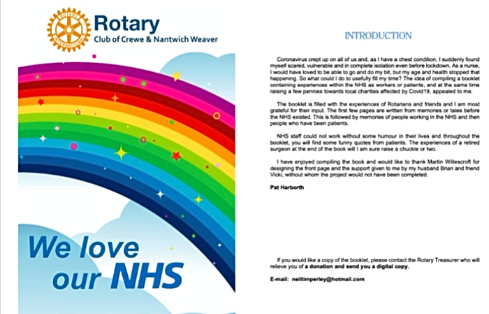 Rotary Crewe and Nantwich Weaver NHS e-booklet