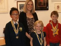 Winners of Nantwich Rotary art and handwriting competition unveiled