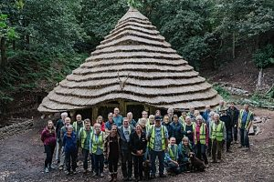 4,000-year-old replica completed at Beeston Castle near Nantwich