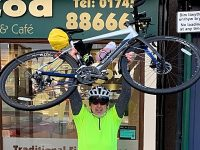Crewe man trains for 900 Land's End to John O'Groats charity ride