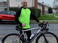 South Cheshire fundraiser tackles Land's End to John O'Groats for charity