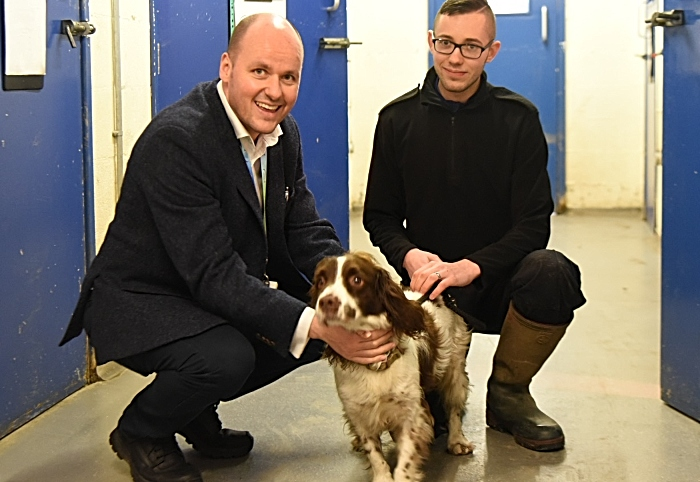 Rufus - cheshire police commissioner dogs